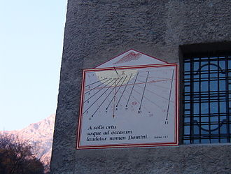 Ala di Stura - Image: Meridiana Ala di Stura