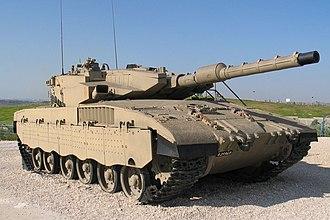 Armored Corps (Israel) - Merkava Mk III tank