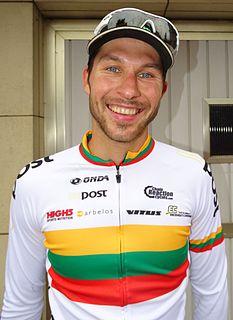 Aidis Kruopis Lithuanian road cyclist