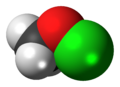 Methyl hypochlorite molecule spacefill.png