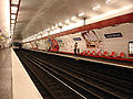 Metro Paris - Ligne 3 - station Louise Michel 02.jpg