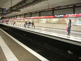Image illustrative de l'article Glòries (métro de Barcelone)