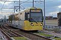Metrolink unit 3016, Deansgate-Castlefield station (geograph 4531883).jpg
