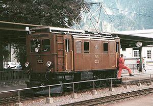 Rhaetian Railway Ge 2/4 - Ge 2/4 222