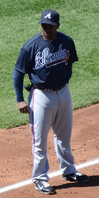Michael Bourn - Bourn with the Atlanta Braves in 2012
