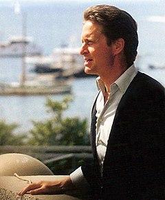 Michael Douglas al Festival di Cannes 1987