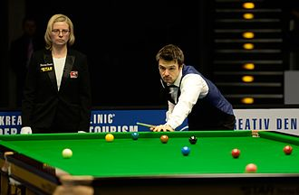 Michael Holt (snooker player) - Holt at the 2015 German Masters