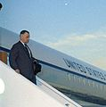Michael Kirwan leaving Air Force One.jpg