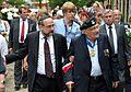 Michael Schudrich Samuel Willenberg 70th anniversary of Treblinka revolt.JPG