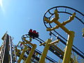 Michigans Adventure - Looking up at Mad Mouse.jpg