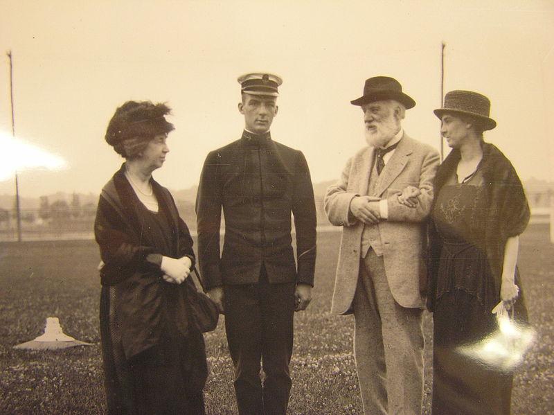 File:Midshipman Melville Bell Grosvenor visited at the Naval Academy.JPG