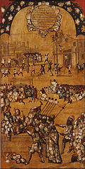 La Conquista de México. Tabla IV