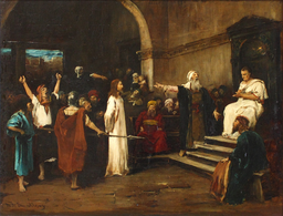 Mihaly Munkacsy - Le Christ devant Pilate - 1881
