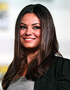 Colour photograph of Mila Kunis in 2014