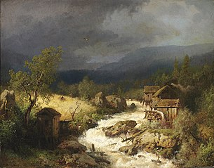 Mill on a Torrent