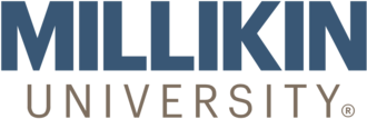 Millikin University - Image: Millikin University wordmark