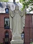 Millingen aan de Rijn - Heilig Hartbeeld (1922) van Jan Custers - 02.jpg