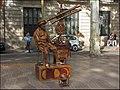 Mime sur La Rambla de Barcelone;.jpg