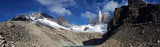 Torres del Paine National Park - Torres d'Agostini, Torres Central, Torres Monzino