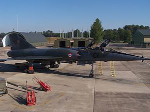 Strategic Air Forces Command - A Mirage IVP of Bomb Squadron 1/91 Gascogne.