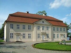 "Cavalier house - The cavalier house on Mirow's ""palace island"" in Mirow"