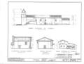 Mission Santa Barbara, 2201 Laguna Street, Santa Barbara, Santa Barbara County, CA HABS CAL,42-SANBA,5- (sheet 6 of 30).png
