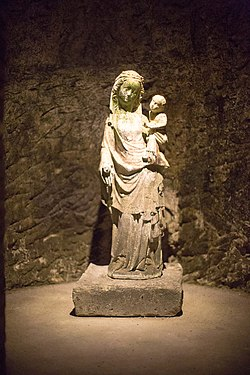 Moët & Chandon caves 5 madonna with child.jpg