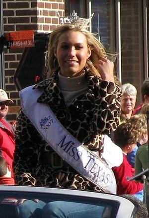 Miss Texas - Molly Hazlett, Miss Texas 2007