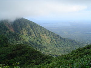 Protected areas of Nicaragua - Mombacho Volcano Natural Reserve