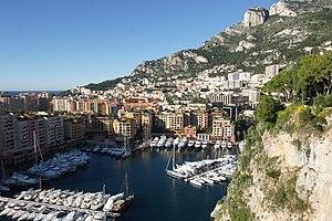 Fontvieille, Monaco - Image: Monaco Marina view 7