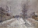 Monet - Le Boulevard de Pontoise à Argenteuil, neige, 1875.jpg