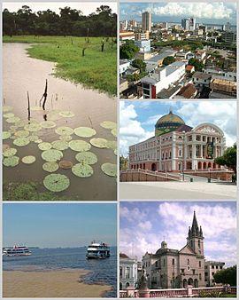 Imagens de manaus e  região metropolitana