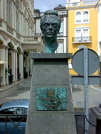 José Comas Quesada - Comas Quesada memorial in his hometown.