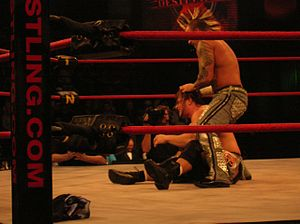 Shannon Moore - Moore competing in TNA in March 2006