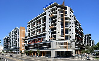 Waterloo, New South Wales - South Dowling Street apartments
