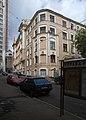 Moscow, N Arbat 13 from Serebryany Lane 03.JPG