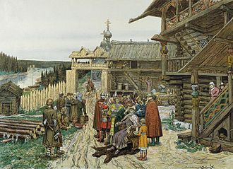Grand Duchy of Moscow - During the reign of Daniel, Moscow was little more than a small timber fort in the forest of Central Rus'.