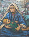 Mother and Child, Kashmir, oil on canvas by Charles W. Bartlett, c. 1930s.jpg