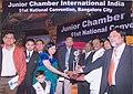 Motivational speaker and author Dr Ujjwal Patni conferred with 'Kamal Patra' Award, Bangalore.jpg