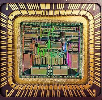 Motorola 68040 - Die of a Motorola 68LC040