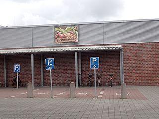 Motorradparkparkplatz Rendsburg im EKZ Konrad-Adenauer-Straße