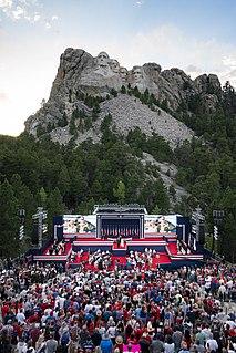 South Dakotas Mount Rushmore Fireworks Celebration 2020