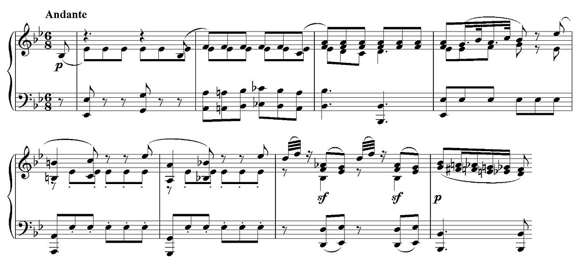 how to play mozart minuet in g