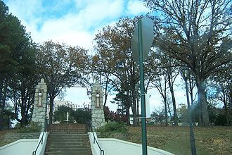 Mount St. Mary Academy (Little Rock, Arkansas) - Entrance Gate to Mount Saint Mary Academy