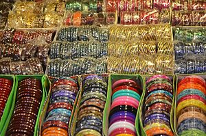 Bangle - Multicolor glass bangles in Gangotri