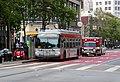Muni route 9 bus at Market and 7th Street, May 2018.JPG