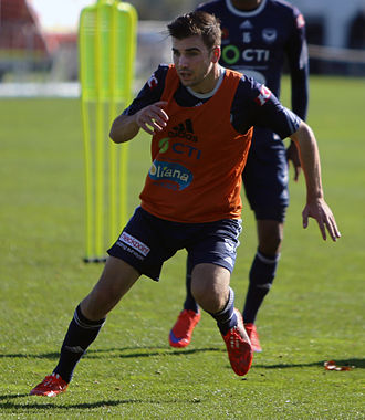 Dylan Murnane - Murnane training with Melbourne Victory FC in 2015