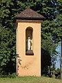 Murzynowo Kościelne, kościół św. Jana Chrzciciela, kapliczka.JPG