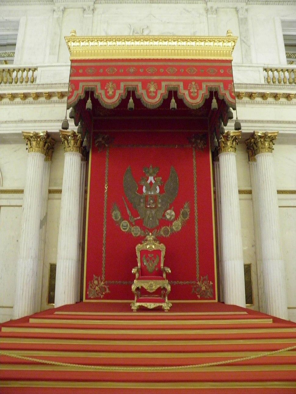 Musée de l'Ermitage - intérieur - hall Saint-Georges (3)
