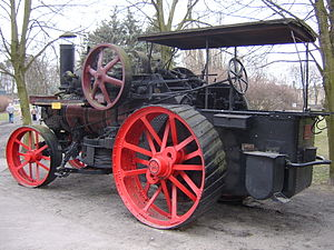 National Museum of Agriculture in Szreniawa - Kemna-Breslau traction engine, 1927